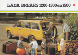 1200/1300/1500 Breaks brochure, 8 pages, 10/1981, Dutch language (Belgium)