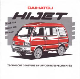 Hi Jet  commercials specs. brochure, 6 pages, 06/1994, Dutch language