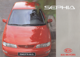 Sephia brochure, 20 pages (A4), about 1996, German language