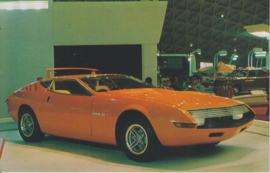 Toyota EX I collectors card, Japanese text, number 55, 1977
