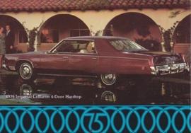 Le Baron 4-Door Hardtop,  US postcard, continental size, 1975