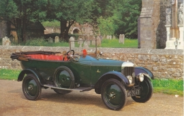 AC 11.9 HP 1921, regular size postcard, VC6, English (GB)