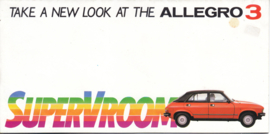 Allegro 3, 8 smaller pages, 1980, English language, UK