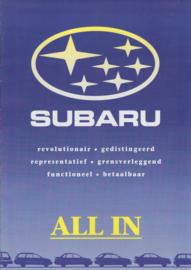 Program brochure, 8 pages, Dutch language, about 1994