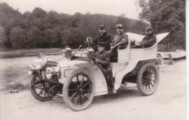 Peugeot 4 cylinder 24 hp 1905, Car museum Driebergen, date 363, # 34