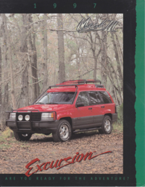 Grand Cherokee  Laredo Excursion by Mark III, 2 pages, 1997, USA