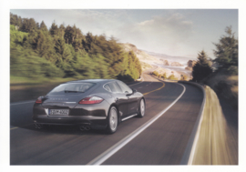 Panamera postcard,  DIN A6 size, factory issue, about 2010