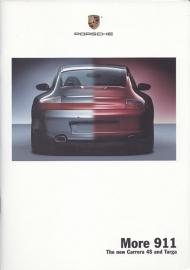 911 Carrera 4S & Targa brochure, 40 pages, 11/2001, WVK 203 823 02, US, English