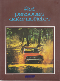 Program all model brochure, 6 pages, A4-size, Dutch language, about 1976