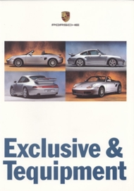 Exclusive & Tequipment brochure 1997, 64 pages, 08/1996, German