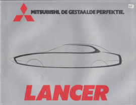 Lancer 1200/1400/1600 brochure, 20 pages, 1977, Dutch language