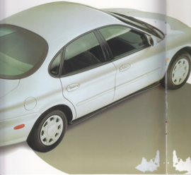 Taurus Sedan & Wagon, 24 pages, Dutch language, about 1996