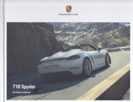 718 Spyder brochure, 88 pages, 06/2019, hard covers, English language