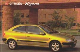 Citroën Xsara, sticker, 15 x 10 cm