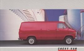 Van,  US postcard, large size, 19 x 11,75 cm, 1988