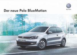 Polo Blue Motion brochure, 6 pages, 04/2014, German language