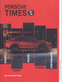 Porsche Times magazine, # 1-2019, 28 pages, PC Willich