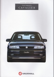 Cavalier brochure, 68 pages, English language, V7358, 8-1993, UK