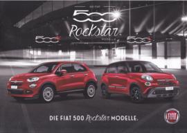 500 X & L Rockstar brochure, 4 pages (A4-size), 2018, German language