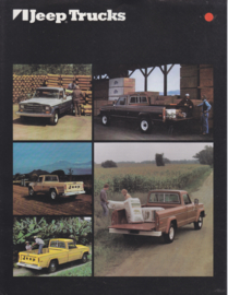 Trucks, leaflet, 2 pages, 1980, USA