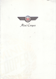Cooper 1300 brochure, 4 pages, Dutch language, about 1991