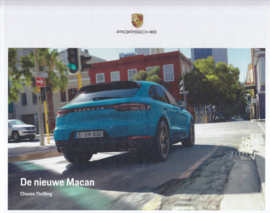 Macan new model brochure, 36 pages, 07/2018, hard covers, Dutch language