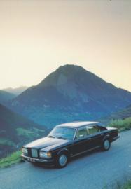Turbo R, DIN A6-size postcard, 1985, English language