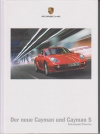 Cayman/Cayman S  brochure, 128 pages, 05/2006, hard covers, German