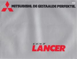 Colt Lancer 1400/1600 brochure, 16 pages, 12/1974, Dutch language