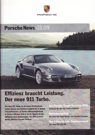 News 03/2009 with 911 Turbo, 28 pages, 09/09, German language