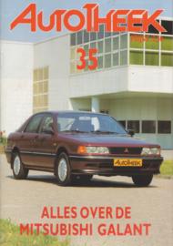 issue # 35, Mitsubishi Galant, 32 pages, 9/1990, Dutch language