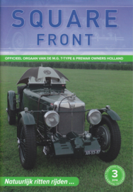MG T-Type & Prewar club magazine,  A5-size, 48 pages, Dutch language, issue 3 (2016)