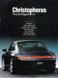 911 Carrera magazine reprint brochure, 28 pages, 09/1993, WVK 138 410 94, German language