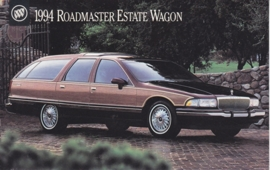 Roadmaster Estate Wagon, US postcard, standard size, 1994