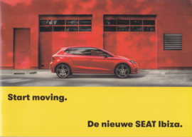 Ibiza new model brochure, 32 pages, 04/2017, Dutch language