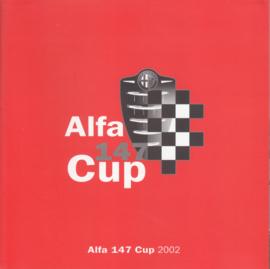 147 Cup brochure, 6 square pages, 2002, German language