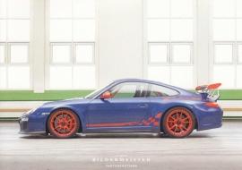 911 GT3 RS, continental size postcard, Bildermeister, 01/2013