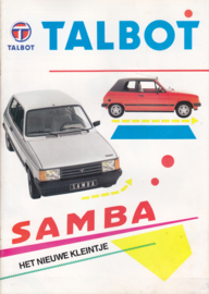 Samba, 20 pages, Dutch language, 1981