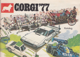 Corgi brochure, 48 pages, 1977, Dutch language
