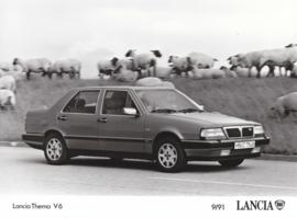 Lancia Thema V6 - factory photo - 09/1991