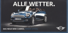 Cabrio brochure, 12 pages, German language, about 2012