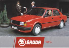 130 L Sedan leaflet, 2 pages, German language, about 1985
