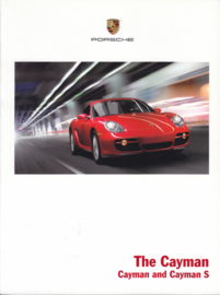 Cayman/Cayman S brochure 2007, 102 pages, MKT 001 080 07, USA, English