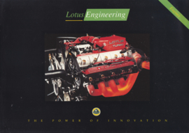 Engineering covering engine research, 6 pages, DIN A4-size, factory-issued, c1991, English