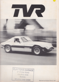 Taimar roadtest report Autosport magazine, 4 pages, English language, 2/1978 *