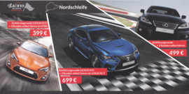 IS-F/RC-F/Toyota GT86, 23,5 x12 cm, German postcard, 2015