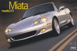Miata Convertible, 2001, US postcard, A5-size