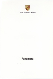 Panamera,  A6-size set with 7 postcards in white cover, 2014, WSRP 1401 22S0 10, German