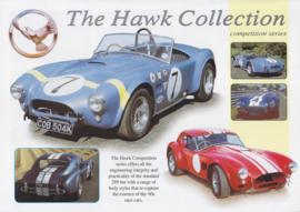 Hawk Collection Cobra  competition series replica leaflet, 2 pages, about 1999, English language
