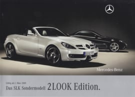 SLK 2LOOK Edition brochure, 16 pages, 02/2009, German language